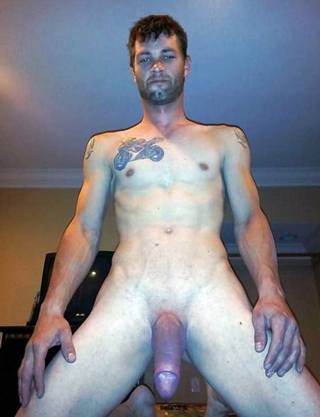 Nude Guy With Huge Cock