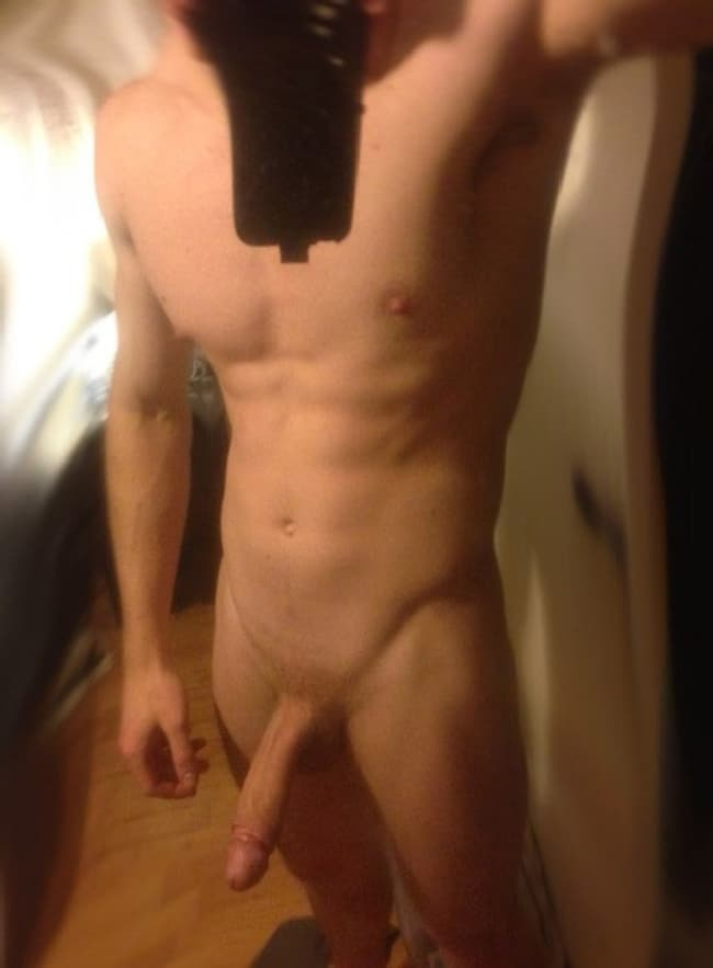 Big Semi Hard Cock