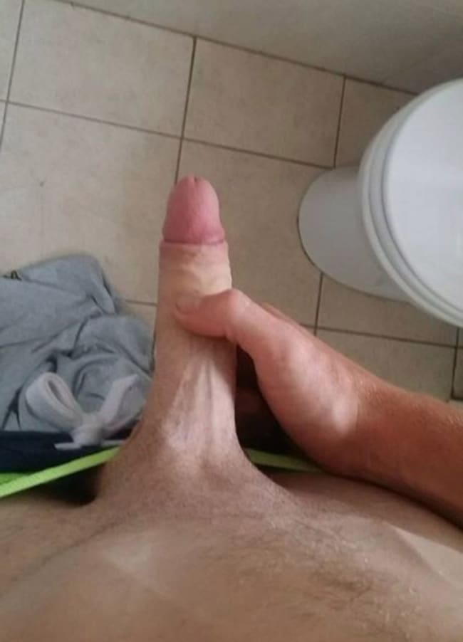 Foreskin Pulled Down
