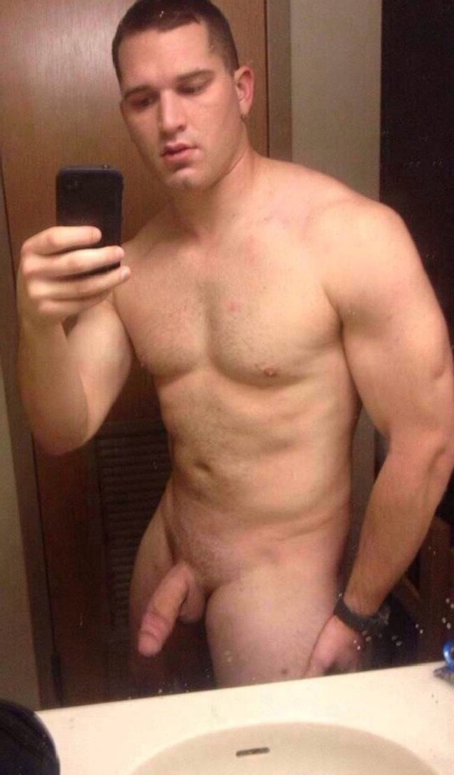 Nude Guy With Hot Cock
