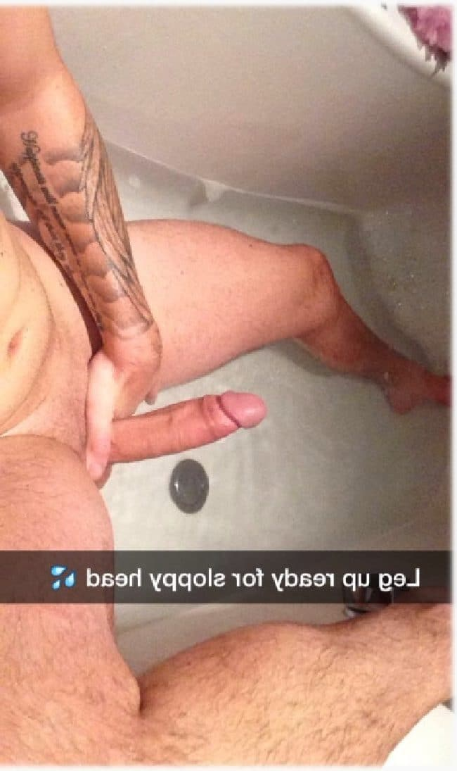 Hard Cock In Bathtub