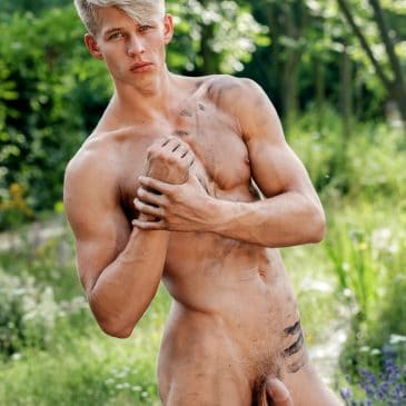 Boy with soft cock